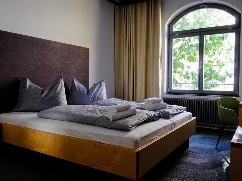 Bruderherz apartment bed room, city center Nuremberg - a few minutes from the main train stationr buchen, Stadtzentrum Nürnberg - wenige Minuten vom Hauptbahnhof entfernt